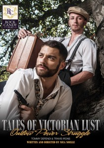 """DVD cover shot for """"Tales of Victorian Lust"""""""