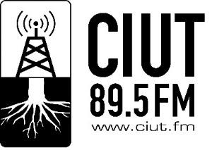 Logo for CIUT 89.5 FM